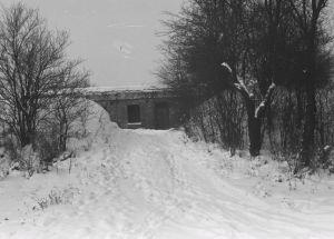 opuszczony i zaniedbany Fort