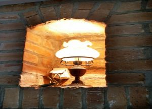 przybliża gościom historie fortów krakowskich.